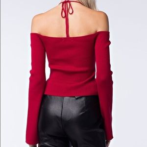 DISCOUNTED TODAY Ruby Red Top